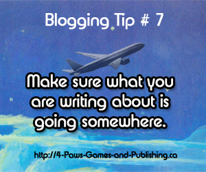 Blogging Tip 7