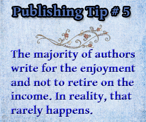 Publishing Tip 5