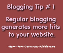 Blogging Tip # 1